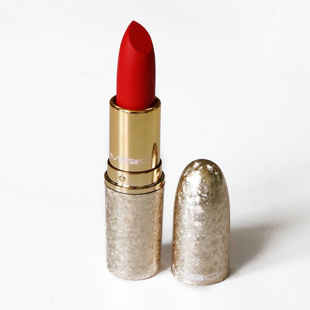 MYG בדרגה גבוהה מט שפתון סקסי יופי שפות אדום שפתון איפור עמיד למים לאורך זמן איפור קוסמטיקה שפתון