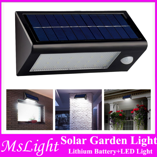 Waterproof Solar Powered Outdoor Motion Sensor Light 32