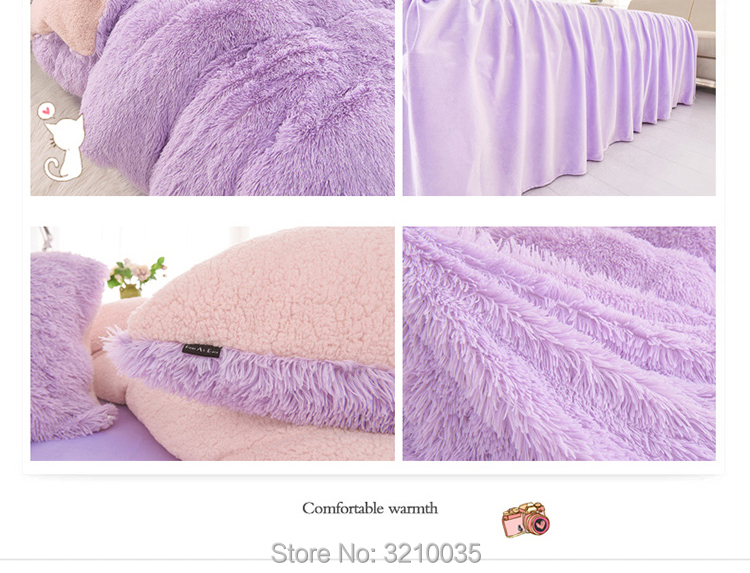 HTB1Hz5gmMfH8KJjy1zcq6ATzpXa0 - Velvet Mink or Flannel 6 Piece Bed Set, For 5 Bed Sizes, Many Colors, Quality Material