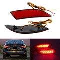 2 Pçs/lote Estilo Do Carro Luz de Aviso Luz de Freio LEVOU Choques Refletor Traseiro Para Ford Focus Sedan Hatchback 3 2012-2014 Peças de Automóvel