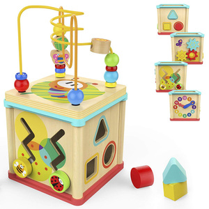 2-6 Years Old Wooden Colorful