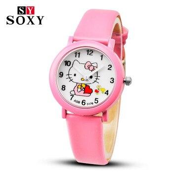 Zegarek dziecięcy Hello Kitty pudrowy kolor