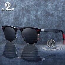 NEW BRAND DESIGN Classic Polarized Sunglasses Men Women Driving Square Frame Sun Glasses Male Goggle Metal frame Gafas De Sol