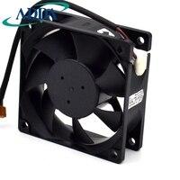 Бесплатная доставка Оригинальный ADDA Бесплатная доставка 7025 7 см AD07012DB257300 12 В Процессор Вентилятор охлаждения