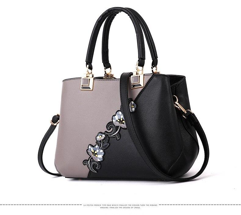 18 New women Handbags Fashion leather handbags Shoulder Bag women top-handle bags 4