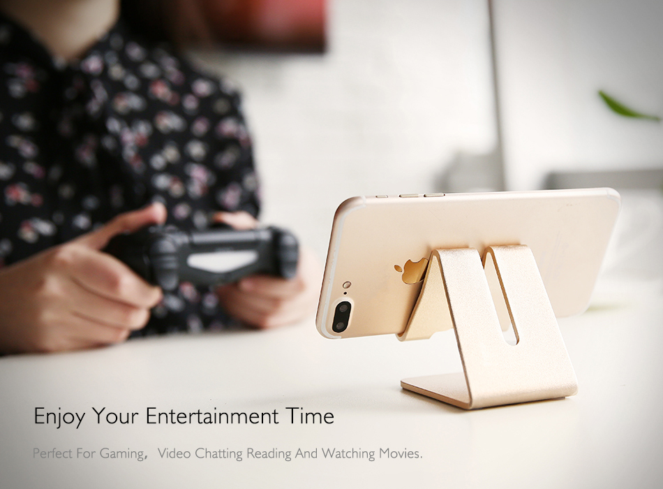 RAXFLY Uniwersalny Aluminium Metal Telefon Uchwyt Stojak Na iPhone 6 7 Plus Samsung Tabletka S8 Biurko Stojak Uchwyt Do Telefonu Inteligentnego Zegarka 4