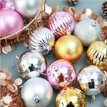 8cm 34pc Christmas Tree Decoration Ball Party Hanging Home Gift