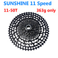 363g 11 Speed Bicycle Freewheel SUNSHINE 11-50T MTB wide than the MTB Bike different cassete SunRace 11-50 hot selling 2018