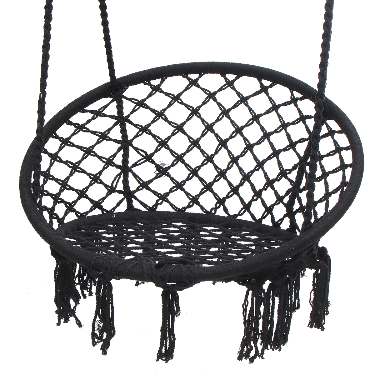 Swing Hanging Chair Black No Hanging Tools