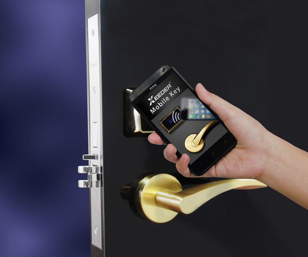 RF Card Hotel Door Lock Support NFC Smart Phone Unlock In Locks From Home  Improvement On Aliexpress.com | Alibaba Group