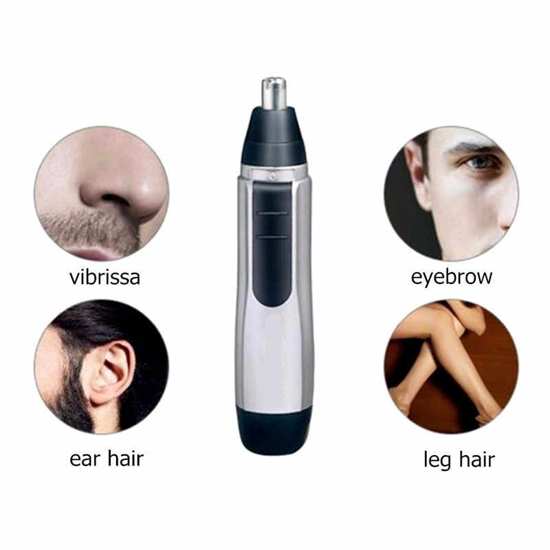 Portable Personal Electric Face Hair Nose Trimmer Shaving Face Care for Men Eyebrow Ear Nose Trimmer Hair Removal Cleaner Tools