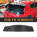 Carbon Fiber Rear Trunk Roof Spoiler Wing Lip For VW Scirocco 2010 2011 2012 Car Styling
