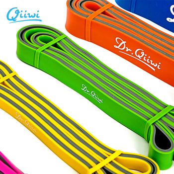 Dr.Qiiwi 210cm Rubber Elastic Resistance Bands Set Yoga Exercise Bands Loop for Training Fitness Gum Equipment Body Stretch 1