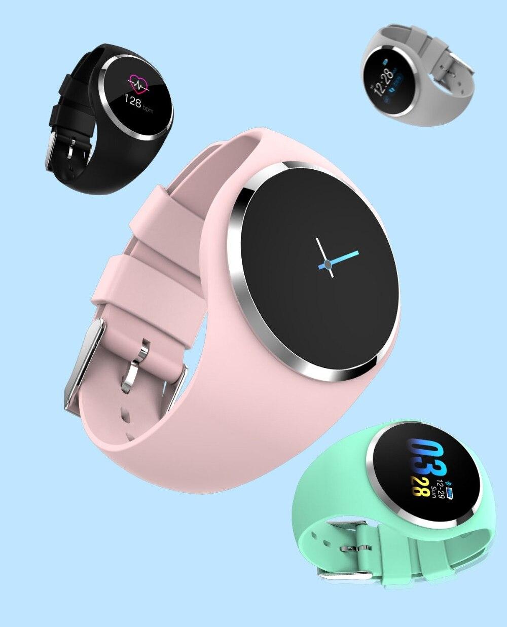 CYUC Q1 Smart Wristband Color LCD Screen Blood Pressure Heart Rate Monitor smart band Fitness Tracker Smart Bracelet ladies 2
