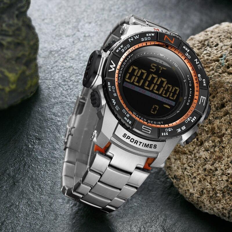 de moda Relógios Digitais Para Os Homens