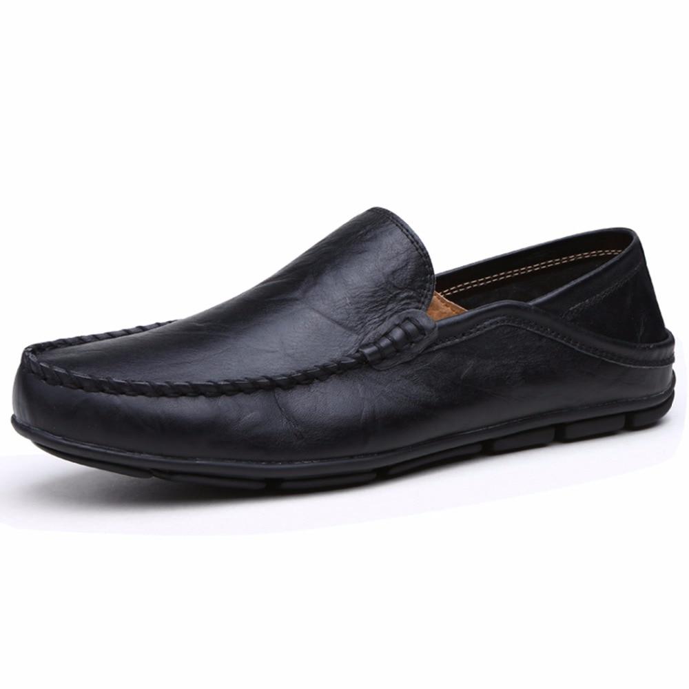 Men S Casaul Moccasin Loafer Shoes Size