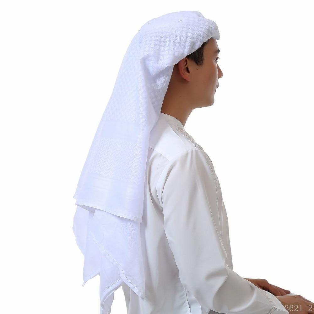 Free Shipping 2017 Muslim Hijab Tactical Arabic Keffiyeh Arab Scarf Islamic Headscarf Shemagh Agal 040903 In Clothing From Novelty
