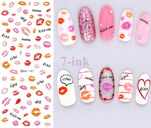 Nails Art Sticker DIY Designer \