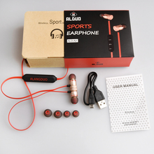 Magnetic A2 Bluetooth Earphone Wireless Sports Running With Mic