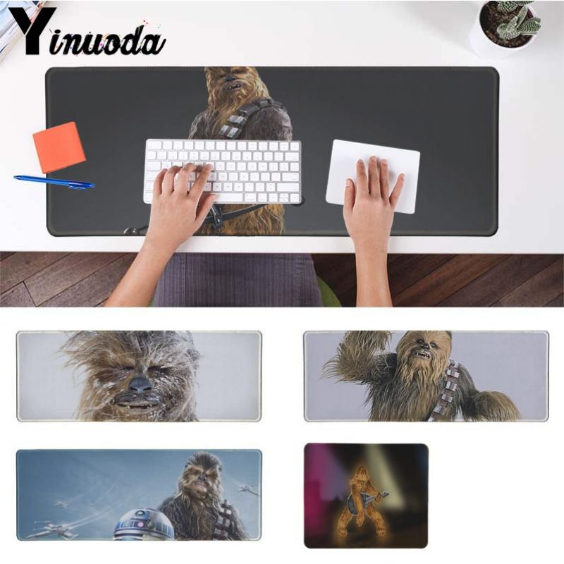 Yinuoda star war Chewbacca Large Mouse pad PC Computer mat Size for 40x90cm Gaming Mousepads Large Gaming Size Mouse Pad ...