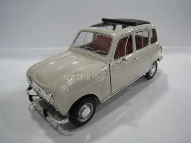 NOR EV 1:18 Renault 4L classic alloy model Car Diecast Metal Toys Birthday Gift For Kids Boy