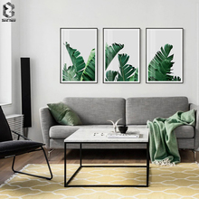 Nordic Decoration Palm Landscape Wall Art Poster and Print Fresh Tropical Canvas Painting Picture for Living Room Home Decor haochu nordic landscape canvas art print painting poster modern fresh hazy plants character home wall decoration for living room