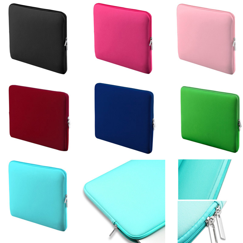Squishy Laptop Cases : Soft Laptop Liner Sleeve Bag Protective Zipper Notebook Case Computer Cover for 11 13 14 15 inch ...