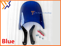 STARPAD XJR400 Kawasaki Zephyr YBR125 CB400 EN125 round lights universal file conversion goggles windshield