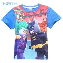 Camiseta niños Lego Batman y Joker