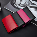 Genuine Leather Card Holder RFID Blocking Business Card Holders Name Card Case/ Metal Holder /Business Card Box