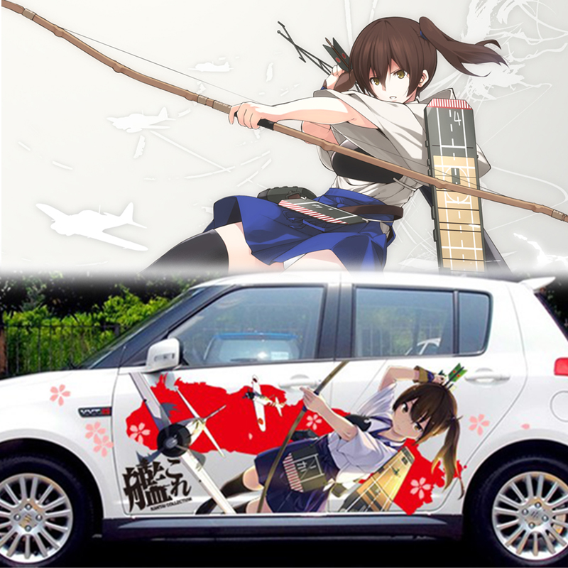 Aliexpresscom  Buy PCS Anime Whole Car Stickers Fleet - Anime car decal stickers