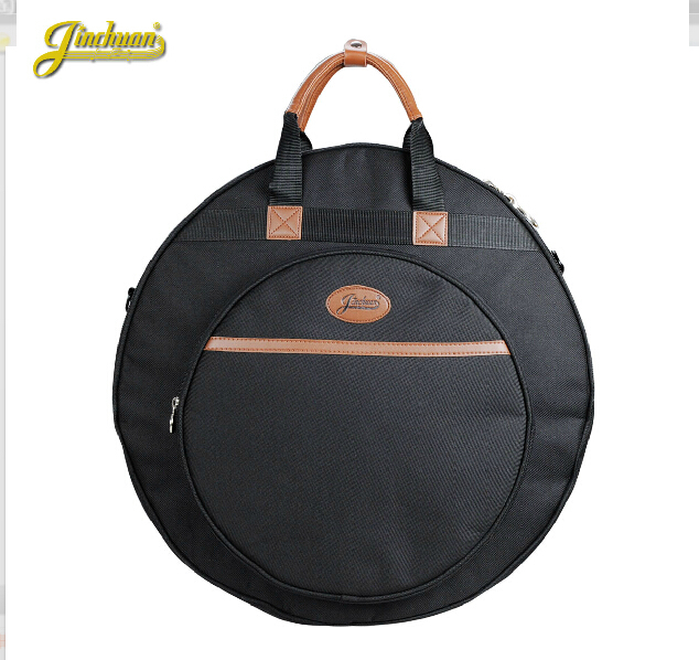 Professional thicker Portable shoulders backpack black 21 Deluxe Cymbal Bag Carrying Case Drums Cymbals Instrument Gig