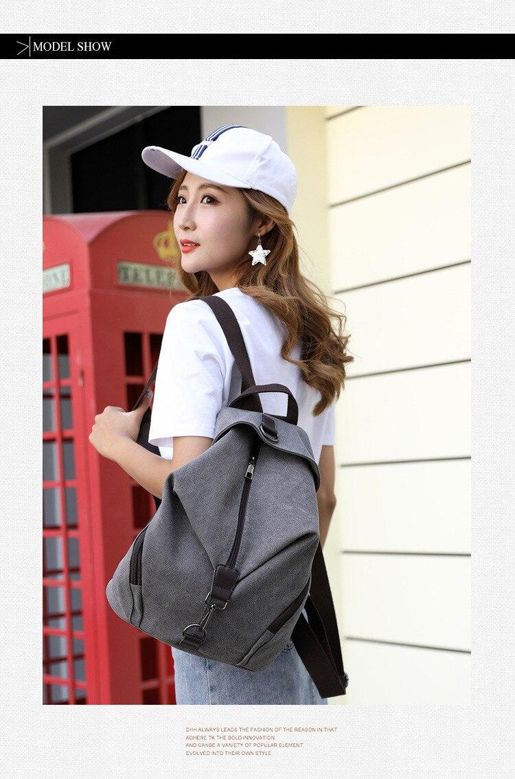 HTB1HzC3X0fvK1RjSszhq6AcGFXay QINRANGUIO Women Backpack Fashion Canvas Backpack Large Capacity School Bags for Teenage Girls Backpack Female Backpack Women