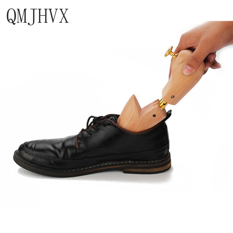 Shoe Trees,1 Pair Solid Wood Adjustable Shoe Support For Men Women Shoe Anti wrinkle, Anti deformation Shoes Support Accessories