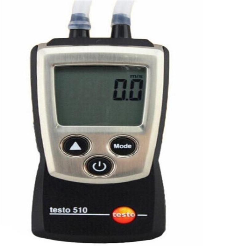 Germany plans testo 510 / differential pressure meter / pressure meter / gauge / TESTO-510 термогигрометр стик testo 605 h1