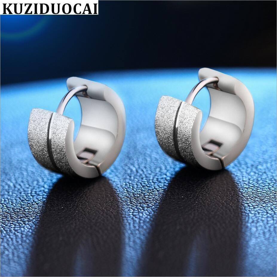 Kuziduocai Fashion Jewelry Pure Metal Stainless Steel