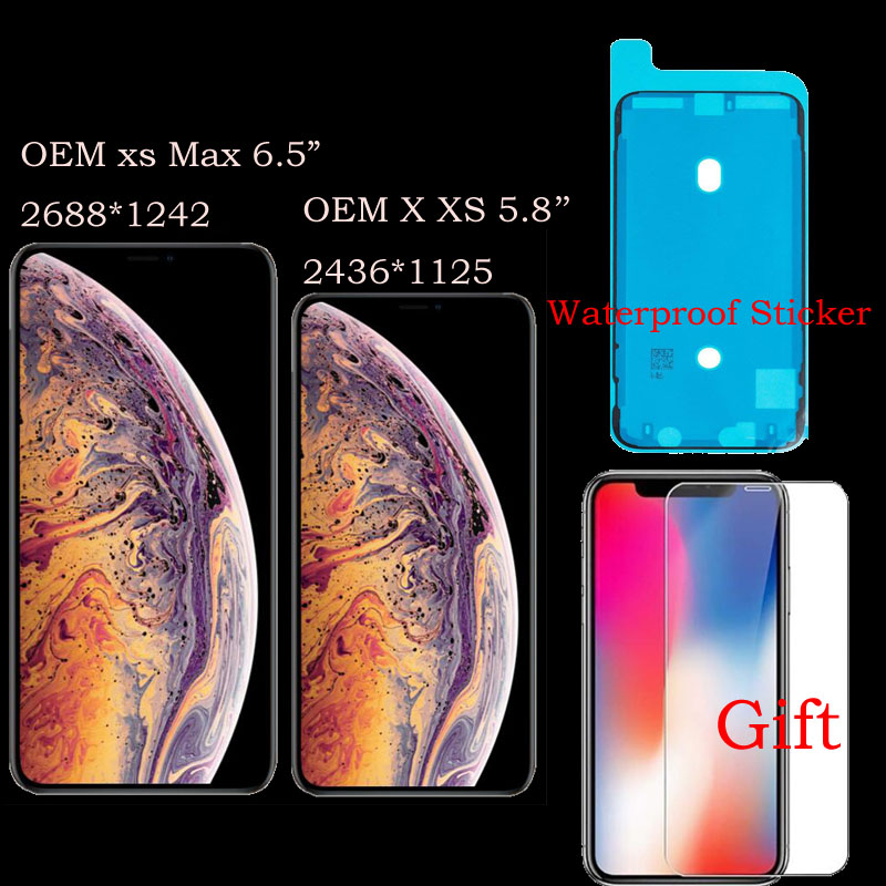 OEM Grade LCD Display For Apple iPhone X XS MAX xsmax XS XR Super AMOLED Touch