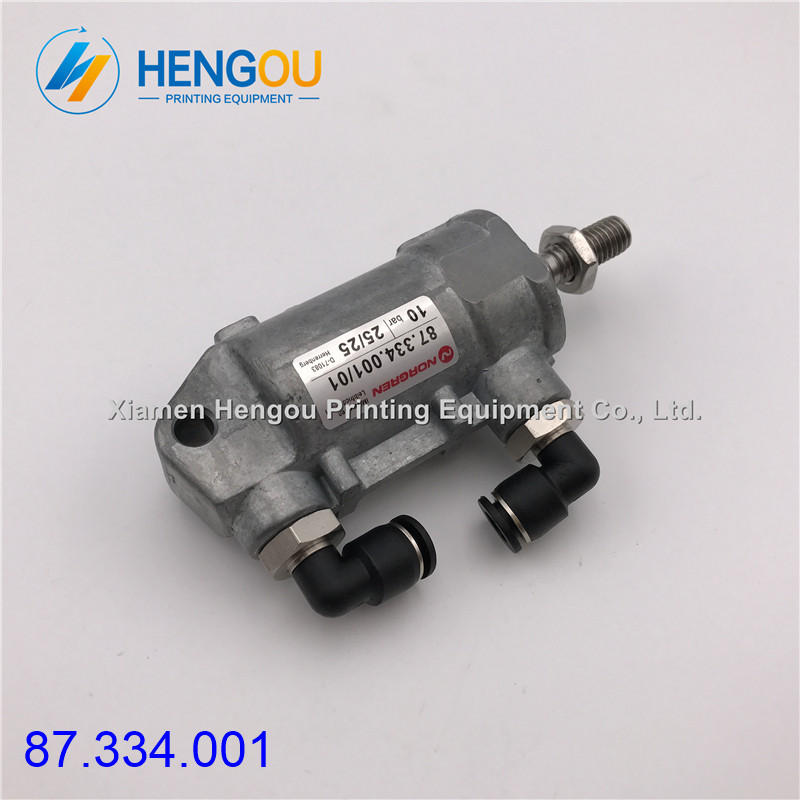 1 pezzo Hengoucn macchina cilindro pneumatico D25 H25 87.334.001 Hengoucn macchina pezzi di ricambio1 pezzo Hengoucn macchina cilindro pneumatico D25 H25 87.334.001 Hengoucn macchina pezzi di ricambio