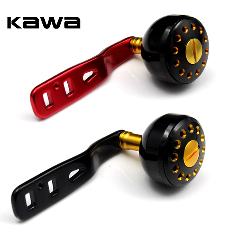 2017 New Design Kawa Fishing Rocker, For Banax Wheel, Durable Aluminum Alloy, Double Holes Fishing Reel Handle For Baitcasting