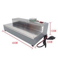 CW-115 eficiente máquina de embalagem caixa de perfume, tecido de embalagem de cigarro