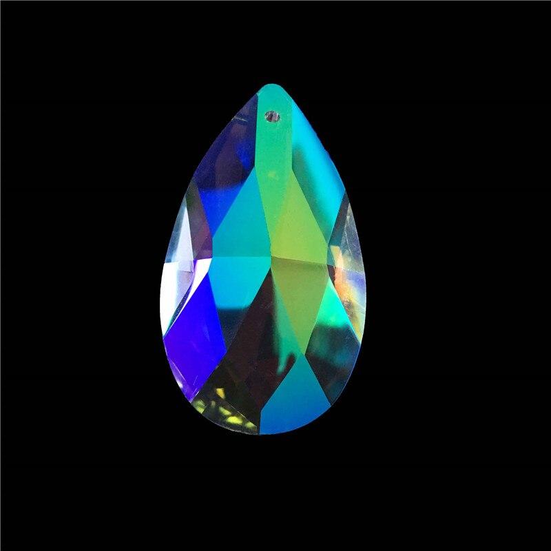 150 ピース/ロット 50 ミリメートル Ab カラークリスタルシャンデリアプリズムペンダントホーム/結婚式の装飾  グループ上の ライト & 照明 からの シャンデリア クリスタル の中 1