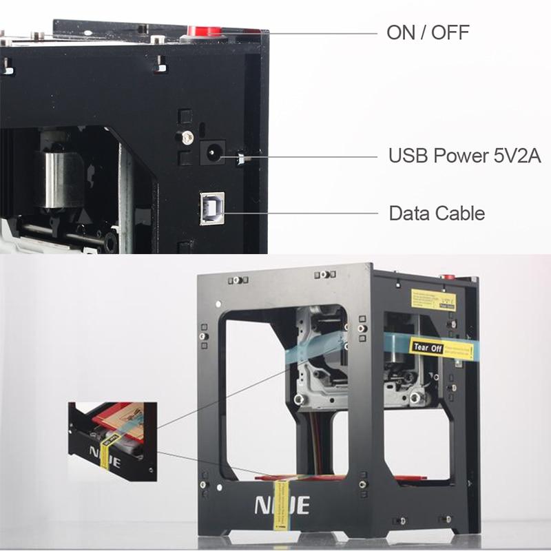 NEJE 2019 hot selling new 1500mw 405nm Ai laser engraver Wood Router DIY Desktop Laser Cutter Printer Engraver Cutting Machine - 5