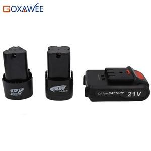 Goxawee 12V 16.8V 21V Recharge