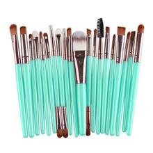 20 pcs foundation powder eyeshadow brush Makeup Toiletry Kit 2016 beauty Make Up Brush Set makeup brushes professional cosmetics