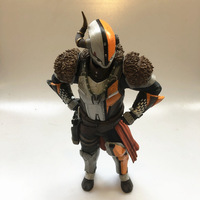 Mcfarlane Garage Kit Figurine Secondhand 26cm Games: Destiny Lord Shaxx Joints Doll Action Figure Collectible Model Toy