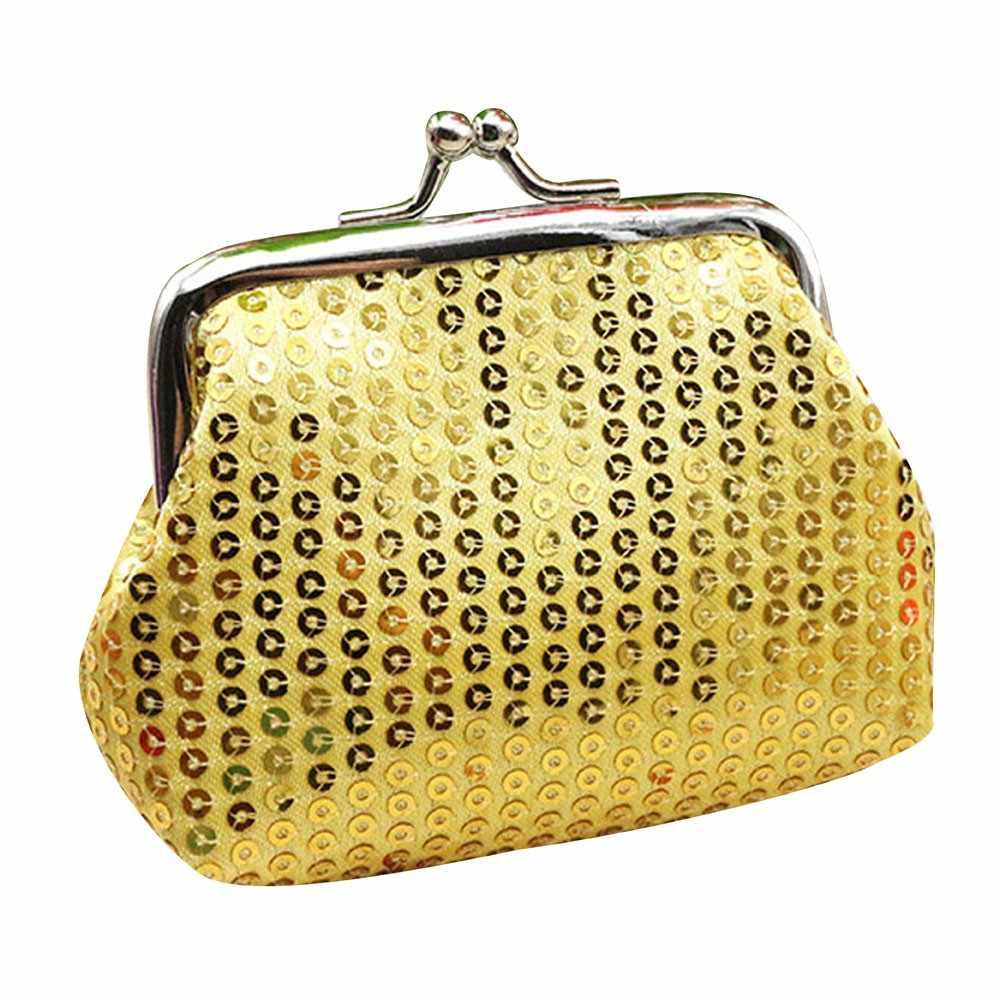 Payet Koin Dompet Wanita Kecil Tas 2019 Fashion Pemegang Kartu Tas Mini Tas Tangan untuk Wanita Porte Monnaie DROP Kapal # H20