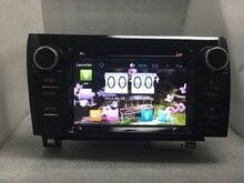 Чистая Android 6.0 Автомобильный DVD для Toyota Tundra 2007 2008 2009 2010 2011 2012 2013 Toyota Sequoia С Quad Core 2 Г ROM Bluetooth GPS