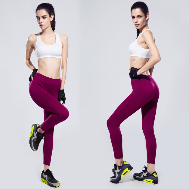 High Waist Stretched Sports Leggings Fitness Yoga Pants
