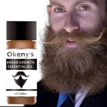 Men Growth Beard Oil Organic Beard Wax 20ml Anti Beard Hair Loss Produc