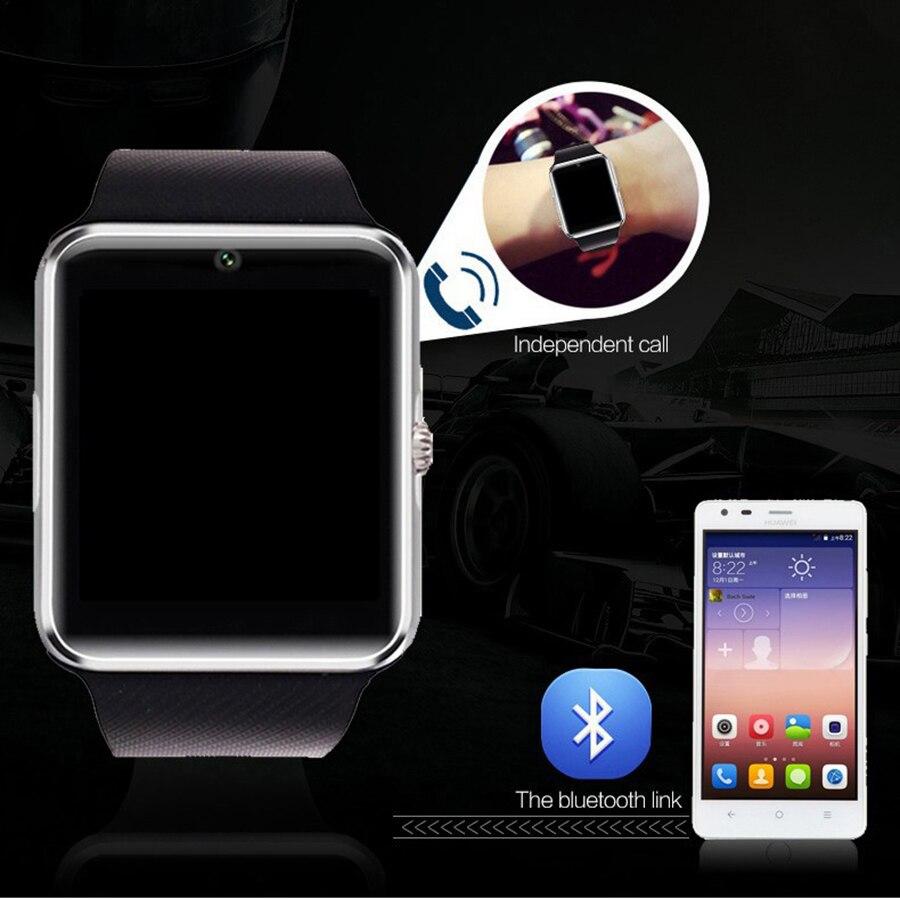 cdc6f847ed4 Venda quente! gt08 smart watch relógio sim apoio tf cartão bluetooth para  apple ios iphone android relógio telefone smartwatch em Amante de Relógios  de ...